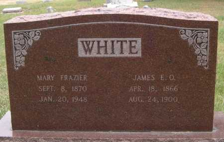 FRAZIER WHITE, MARY - Pottawattamie County, Iowa | MARY FRAZIER WHITE