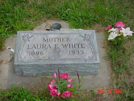 WHITE, LAURA E. - Pottawattamie County, Iowa | LAURA E. WHITE