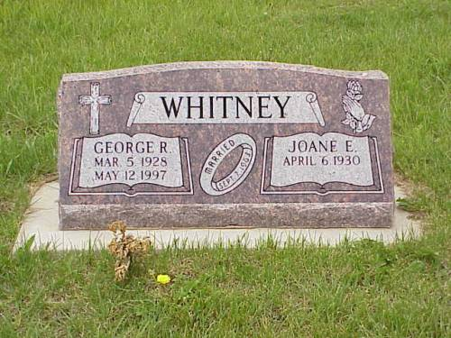 WHITEHEAD, GEORGE R.. & JOANE E. - Pottawattamie County, Iowa | GEORGE R.. & JOANE E. WHITEHEAD