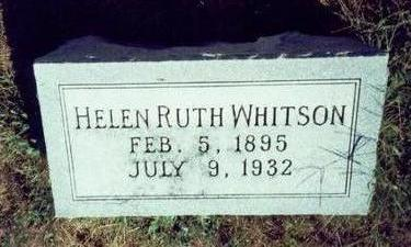 WHITSON, HELEN RUTH - Pottawattamie County, Iowa | HELEN RUTH WHITSON