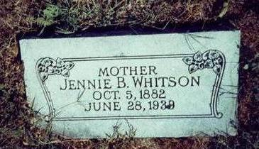 WHITSON, JENNIE - Pottawattamie County, Iowa | JENNIE WHITSON