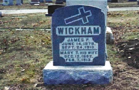 WICKHAM, JAMES - Pottawattamie County, Iowa | JAMES WICKHAM
