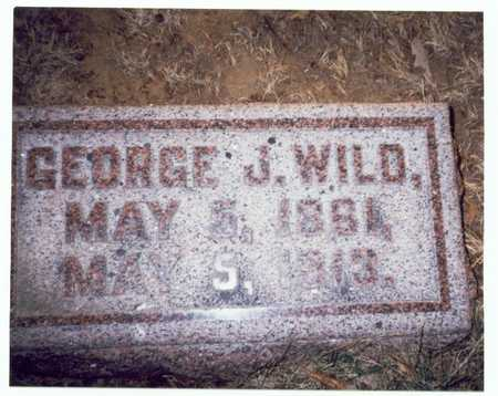 WILD, GEORGE JAMES - Pottawattamie County, Iowa | GEORGE JAMES WILD