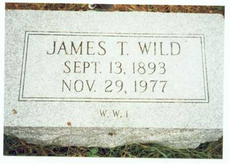 WILD, JAMES T. - Pottawattamie County, Iowa | JAMES T. WILD