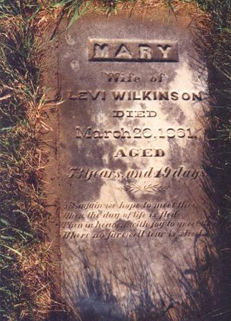 WILKINSON, MARY ANN - Pottawattamie County, Iowa | MARY ANN WILKINSON