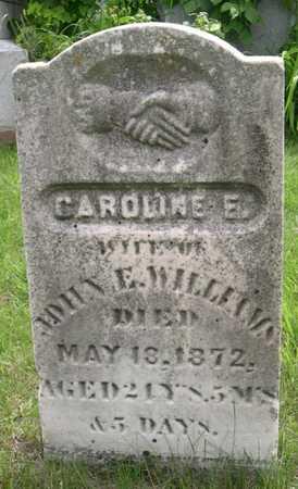 E. WILLIAMS, CAROLINE - Pottawattamie County, Iowa | CAROLINE E. WILLIAMS