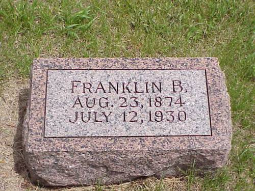 WILLIAMS, FRANKLIN B. - Pottawattamie County, Iowa | FRANKLIN B. WILLIAMS