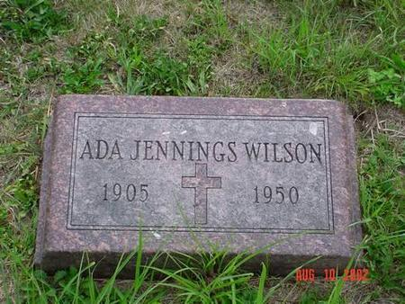 WILSON, ADA JENNINGS - Pottawattamie County, Iowa | ADA JENNINGS WILSON