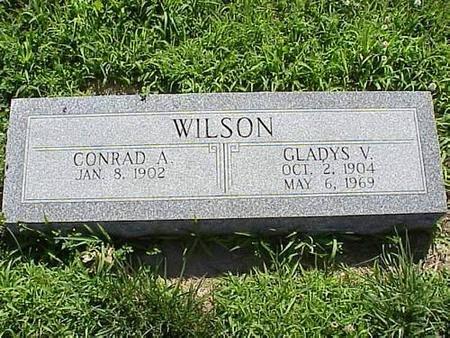 WILSON, CONRAD A. & GLADYS V. - Pottawattamie County, Iowa | CONRAD A. & GLADYS V. WILSON