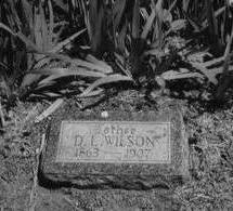 WILSON, DANIEL LIVINGSTON - Pottawattamie County, Iowa | DANIEL LIVINGSTON WILSON