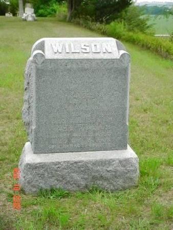 WILSON, FRANCES S. - Pottawattamie County, Iowa   FRANCES S. WILSON