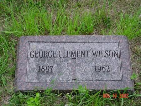 WILSON, GEORGE CLEMENT - Pottawattamie County, Iowa | GEORGE CLEMENT WILSON