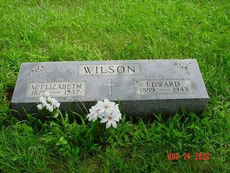 WILSON, M. ELIZABETH & EDWARD - Pottawattamie County, Iowa | M. ELIZABETH & EDWARD WILSON