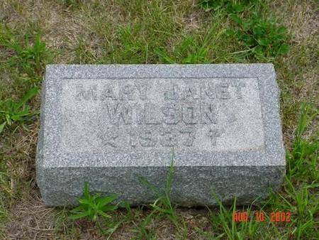 WILSON, MARY JANET - Pottawattamie County, Iowa | MARY JANET WILSON