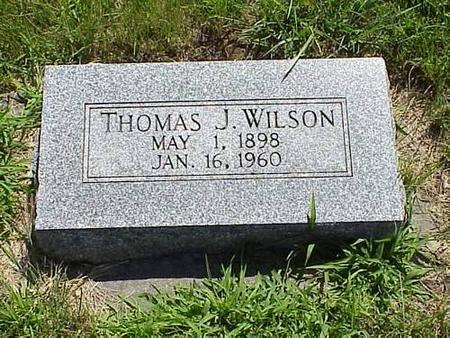 WILSON, THOMAS J. - Pottawattamie County, Iowa | THOMAS J. WILSON
