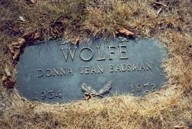 BAUSMAN WOLFE, DONNA JEAN - Pottawattamie County, Iowa | DONNA JEAN BAUSMAN WOLFE