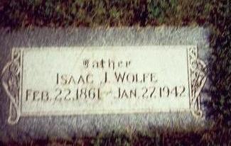 WOLFE, ISAAC J. - Pottawattamie County, Iowa | ISAAC J. WOLFE