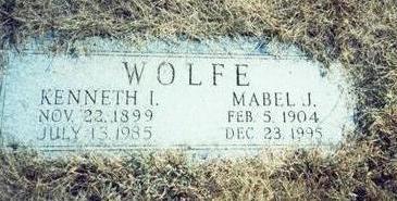 WOLFE, MABEL J. - Pottawattamie County, Iowa | MABEL J. WOLFE