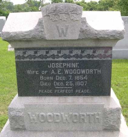 WOODWORTH, JOSEPHINE - Pottawattamie County, Iowa | JOSEPHINE WOODWORTH