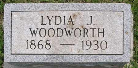 WOODWORTH, LYDIA J. - Pottawattamie County, Iowa | LYDIA J. WOODWORTH