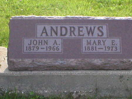 ANDREWS, JOHN ARTHUR - Poweshiek County, Iowa | JOHN ARTHUR ANDREWS