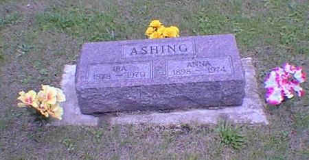 ASHING, IRA O. - Poweshiek County, Iowa | IRA O. ASHING