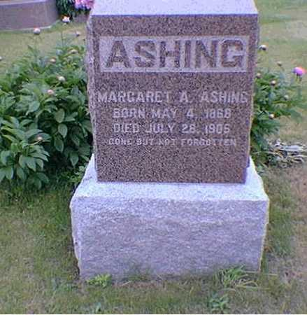 ASHING, MARGARET - Poweshiek County, Iowa | MARGARET ASHING