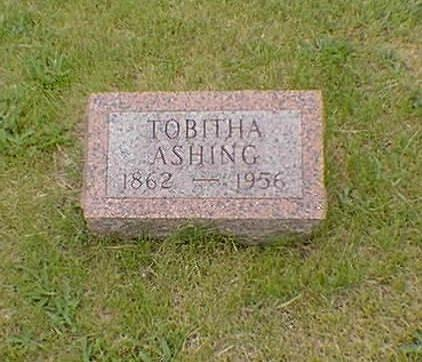 ASHING, TOBITHA - Poweshiek County, Iowa | TOBITHA ASHING