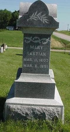 BASTIAN, MARY - Poweshiek County, Iowa | MARY BASTIAN