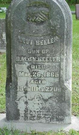 BEELER, LEVI - Poweshiek County, Iowa | LEVI BEELER