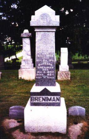 BRENIMAN, BARBARA - Poweshiek County, Iowa | BARBARA BRENIMAN