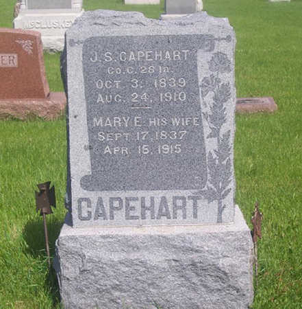 CAPEHART, MARY ELIZABETH - Poweshiek County, Iowa | MARY ELIZABETH CAPEHART