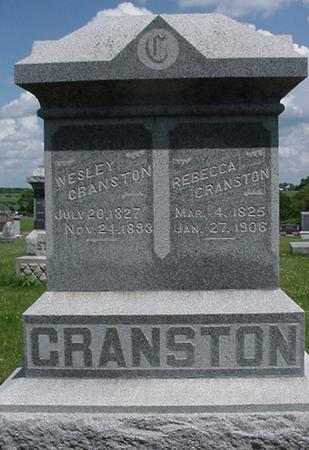 CRANSTON, REBECCA - Poweshiek County, Iowa | REBECCA CRANSTON