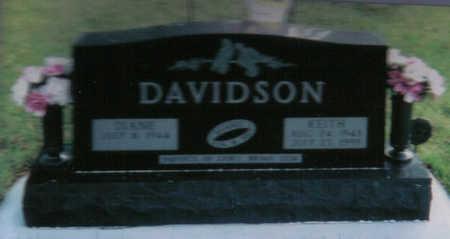 DAVIDSON, KEITH - Poweshiek County, Iowa   KEITH DAVIDSON