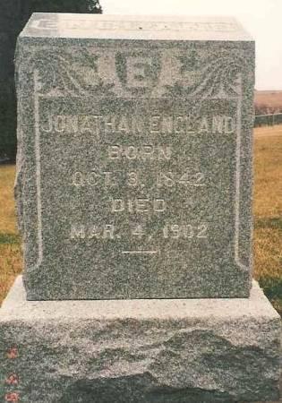 ENGLAND, JONATHAN - Poweshiek County, Iowa | JONATHAN ENGLAND