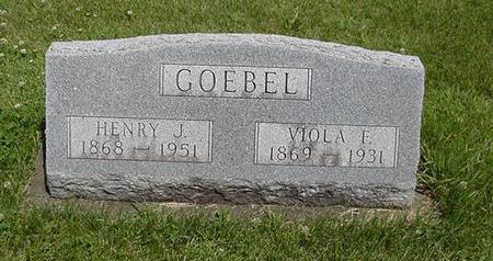 GOEBEL, VIOLA - Poweshiek County, Iowa | VIOLA GOEBEL