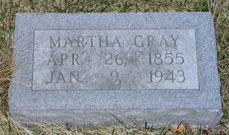 GRAY, MARTHA (COLLINSON) - Poweshiek County, Iowa | MARTHA (COLLINSON) GRAY