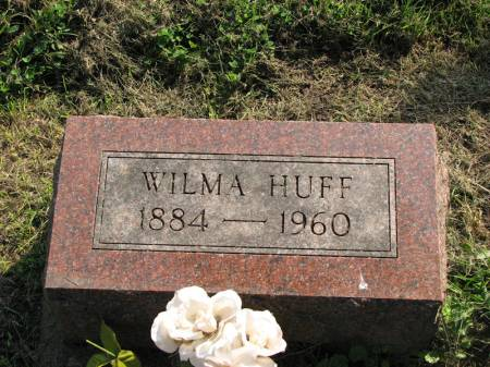 HUFF, WILMA - Poweshiek County, Iowa | WILMA HUFF