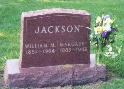 JACKSON, MARGARET - Poweshiek County, Iowa | MARGARET JACKSON