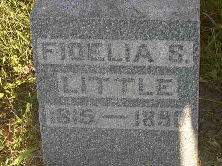 LITTLE, FEDELIA MARIA - Poweshiek County, Iowa | FEDELIA MARIA LITTLE
