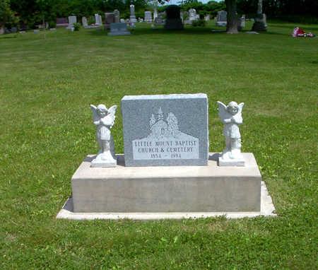 LITTLE MOUNT BAPTIST, CEMETERY - Poweshiek County, Iowa   CEMETERY LITTLE MOUNT BAPTIST