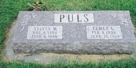 PULS, ELMER L - Poweshiek County, Iowa | ELMER L PULS
