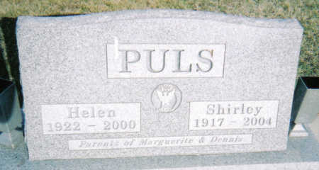 PULS, HELEN - Poweshiek County, Iowa | HELEN PULS
