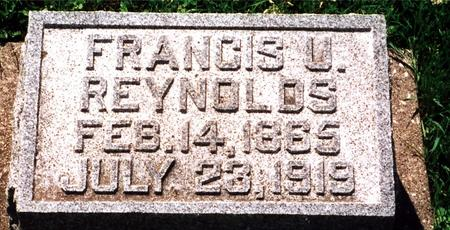 REYNOLDS, FRANCIS (FRANK) - Poweshiek County, Iowa | FRANCIS (FRANK) REYNOLDS