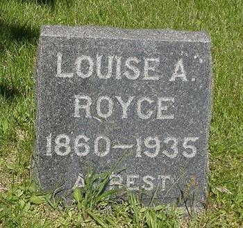 ROYCE, LOUISE - Poweshiek County, Iowa | LOUISE ROYCE
