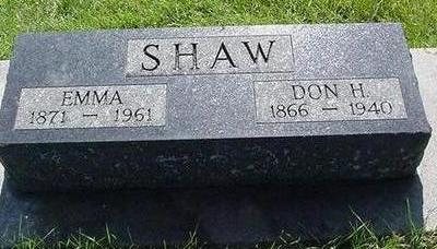 SHAW, DON - Poweshiek County, Iowa | DON SHAW