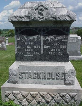 STACKHOUSE, HARRIET - Poweshiek County, Iowa | HARRIET STACKHOUSE