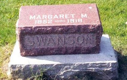 MARSHALL SWANSON, MARGARET - Poweshiek County, Iowa | MARGARET MARSHALL SWANSON