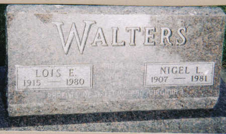 PLUM WALTERS, LOIS E - Poweshiek County, Iowa | LOIS E PLUM WALTERS
