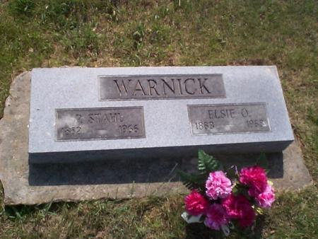 WARNICK, ELSIE O. - Poweshiek County, Iowa | ELSIE O. WARNICK